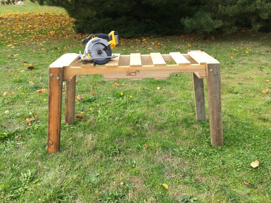 Quick Sawhorse/ Bench