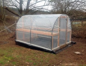 Double Wall Hoop House Tinker S Blessing