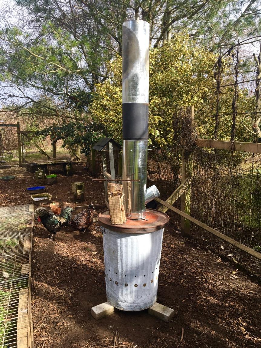 Biochar: Double Walled GasificationStove