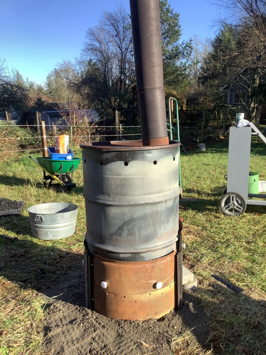 A more efficient Biochar Stove